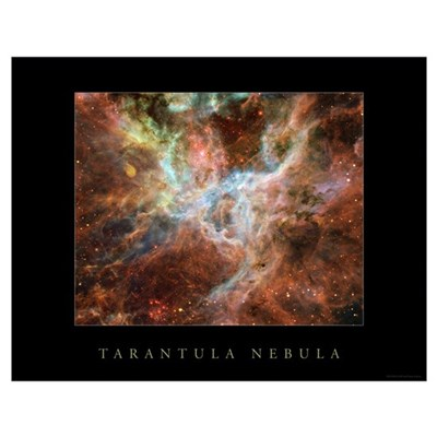 "Tarantula Nebula <br>(28"" x 22"") Poster"