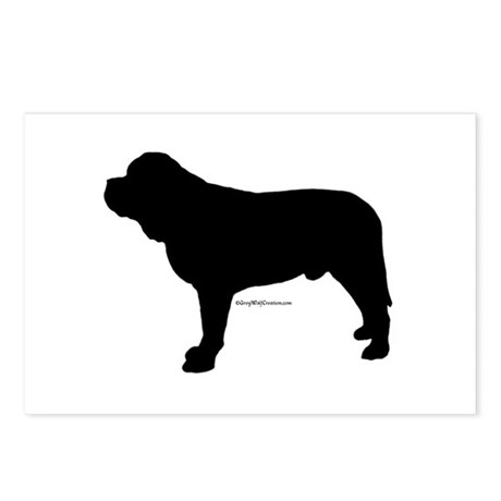 Mastiff 174 Postcards (Package of 8)