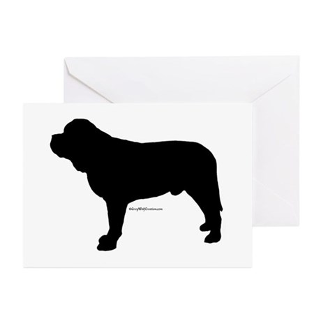Mastiff 174 Greeting Cards (Pk of 10)