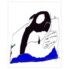 In Honor of Luna the Killer Whale Poster