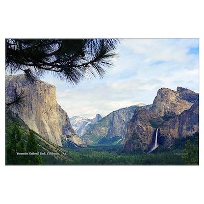 Yosemite Valley- Poster