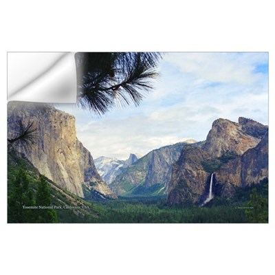 Yosemite Valley- Wall Decal