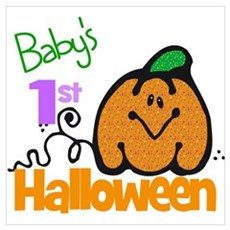 Baby's 1st Halloween Poster