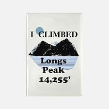 Longs Peak 14,255' Rectangle Magnet