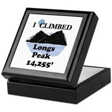 Longs Peak 14,255' Keepsake Box