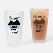 Longs Peak 14,255' Drinking Glass