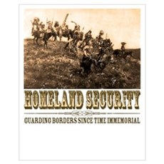 Homeland Security-Guarding Poster