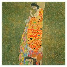 Gustav Klimt Abandoned Hope XL Poster
