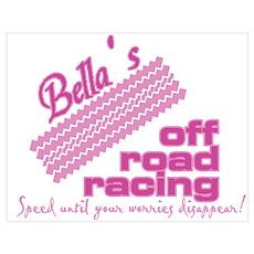 Bella's Off Road Racing Poster