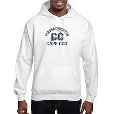 Cape Cod MA - Varsity Design Hoodie
