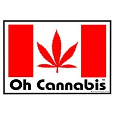 Oh Cannabis Poster
