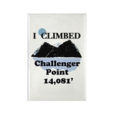 Challenger Point Rectangle Magnet