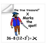 High school math teacher Wall Decals
