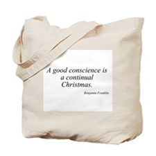 Benjamin Franklin quote 2 Tote Bag