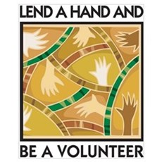 Lend a Hand and Be a Volunteer Canvas Art