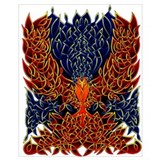 Celtic phoenix Wrapped Canvas Art