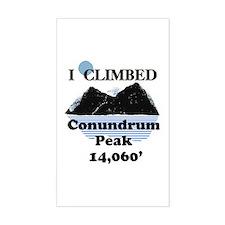 Conundrum Peak Decal
