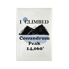 Conundrum Peak Rectangle Magnet