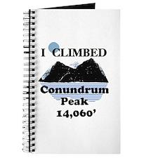 Conundrum Peak Journal