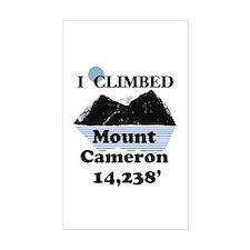 Mount Cameron Decal