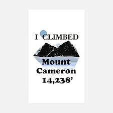 Mount Cameron Sticker (Rectangle)