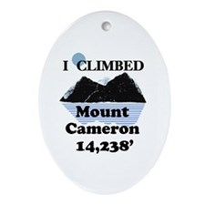 Mount Cameron Ornament (Oval)