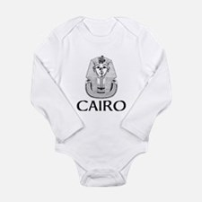 Cairo Long Sleeve Infant Bodysuit
