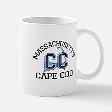 Cape Cod MA - Varsity Design Mug