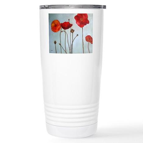 Fleurs Stainless Steel Travel Mug