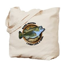 I Fish Like A Girl Tote Bag
