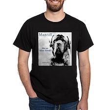 Mastiff 148 Black T-Shirt