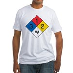 Fire Diamond 1 Fitted T-Shirt