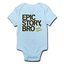 Epic Story Bro Infant Bodysuit