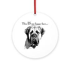 Mastiff 137 Ornament (Round)