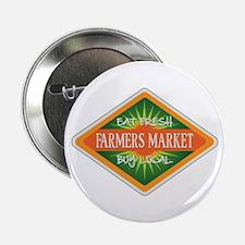 "Eat Fresh Farmers Market 2.25"" Button"