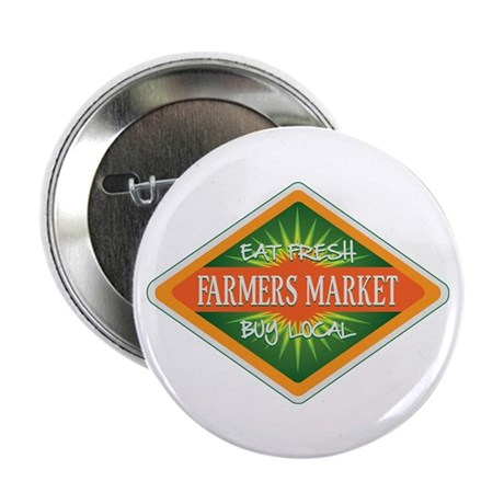 "Eat Fresh Farmers Market 2.25"" Button (10 pack)"