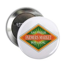 "Eat Fresh Farmers Market 2.25"" Button (100 pack)"