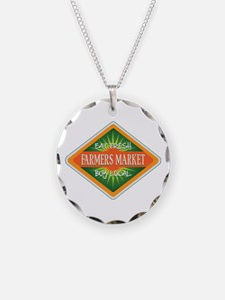 Eat Fresh Farmers Market Necklace