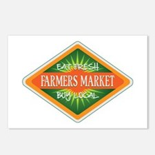 Eat Fresh Farmers Market Postcards (Package of 8)