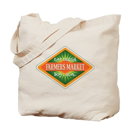 Eat Fresh Farmers Market Tote Bag