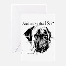 Mastiff 135 Greeting Cards (Pk of 10)