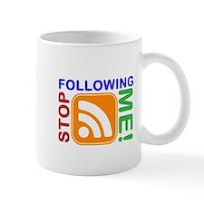 Stop Following Me! RSS Icon Mug