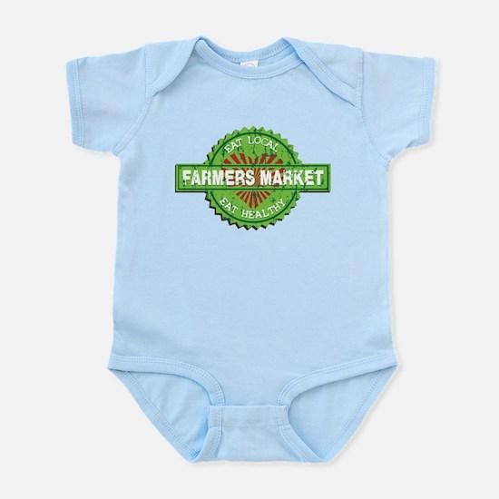 Farmers Market Heart Infant Bodysuit