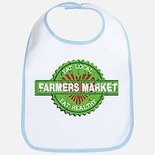 Farmers Market Heart Bib