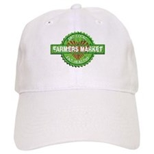 Farmers Market Heart Baseball Cap