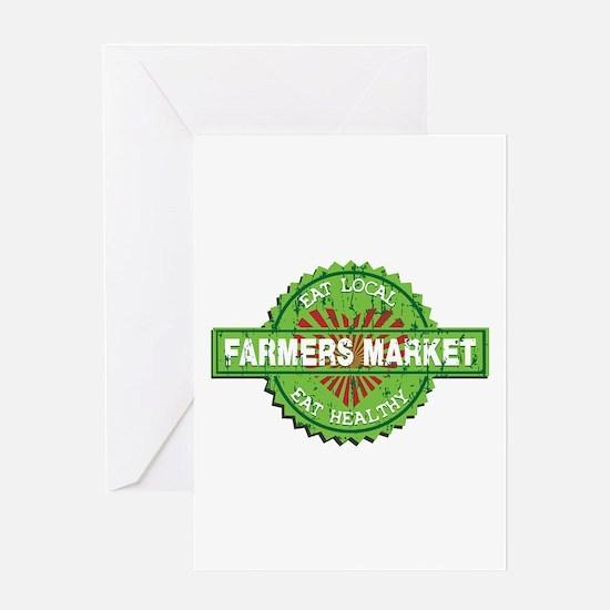 Farmers Market Heart Greeting Card