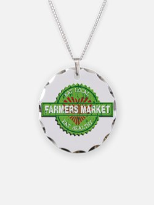 Farmers Market Heart Necklace