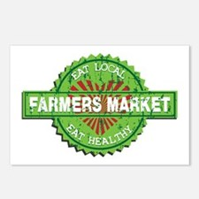 Farmers Market Heart Postcards (Package of 8)