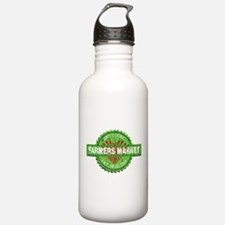 Farmers Market Heart Sports Water Bottle