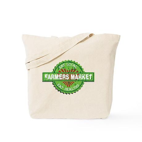 Farmers Market Heart Tote Bag